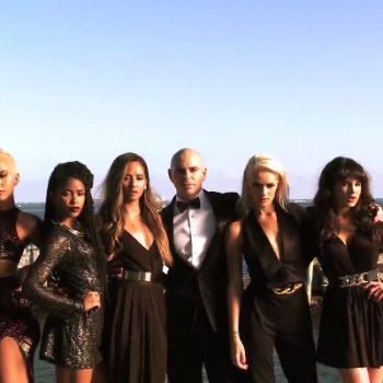 Pitbull e o G.R.L. apresentam música nova em programa de TV americano