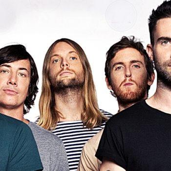 "Maroon 5 faz cover de ""Happy"" e performance de novo single"