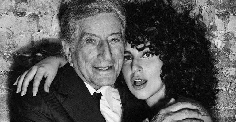 Álbum de Tony Bennett e Lady Gaga estreia no topo da Billboard