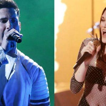 Maroon 5 e Jessie J se apresentam no X Factor UK