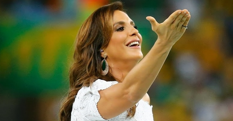 "Ivete Sangalo aparece no TOP 10 do ""World Music Awards"""