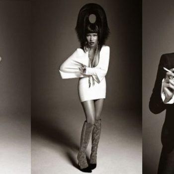 Nicki Minaj posa para a Vogue Itália