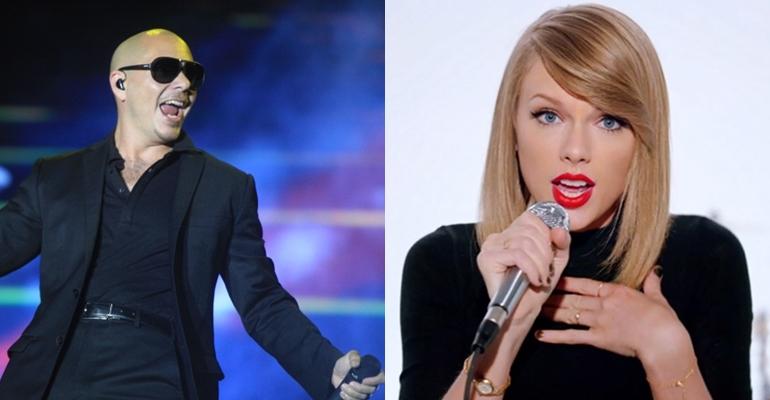 Confira a versão de Pitbull para novo single de Taylor Swift