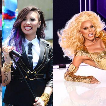"""Ariana Grande Demi Lovato serão juradas em """"RuPaul's Drag Race"""""""