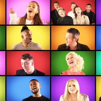 "Artistas se unem em cover do hit ""We Are The Champions"""