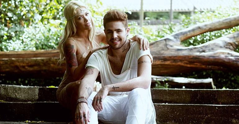 Nicky Valentine e Leandro Buenno anunciam estreia de clipe na MIX TV