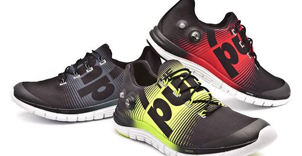 Reebok lança modelo de tênis que se adapta ao pé