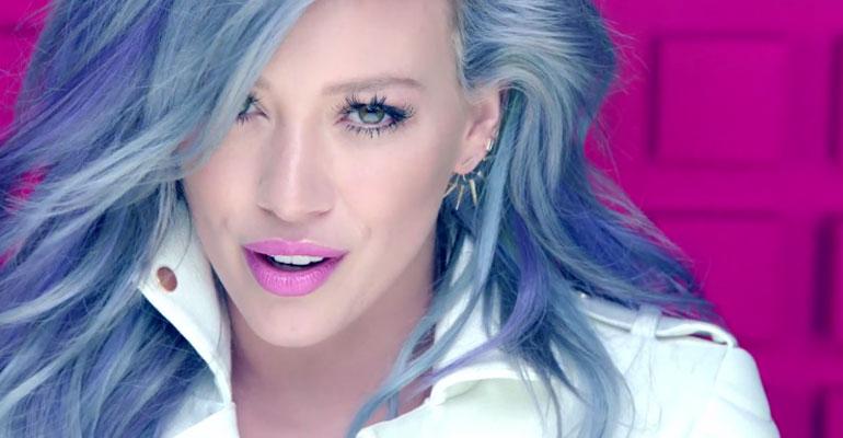 """Hilary Duff confirma nova versão para clipe de """"Sparks"""""""