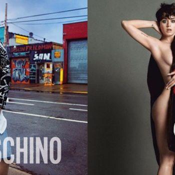 Katy Perry divulga novas imagens de sua campanha para a Moschino
