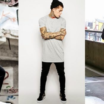Camisetas LongLine e LongTail: reinventando o básico e deixando-o cheio de atitude!