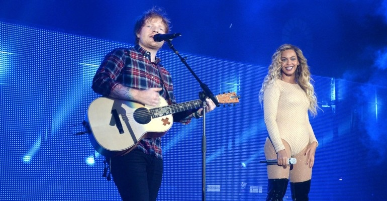 "Ouça a nova versão de ""Perfect"" do Ed Sheeran com Beyoncé"
