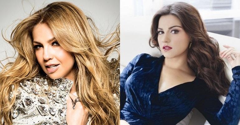 Thalía derruba Maite Perroni e volta a ser a cantora mais ouvida no Spotify