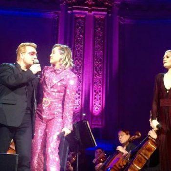Miley Cyrus e Jessie J se unem ao U2 em evento beneficente