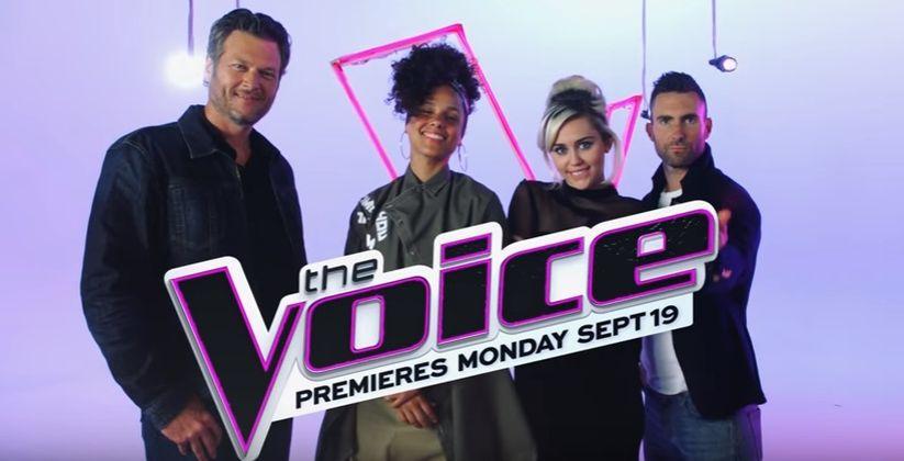 Adam Levine, Blake Shelton, Miley Cyrus e Alicia Keys fazem cover no The Voice