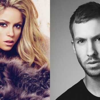 Shakira está trabalhando com Calvin Harris em novo single