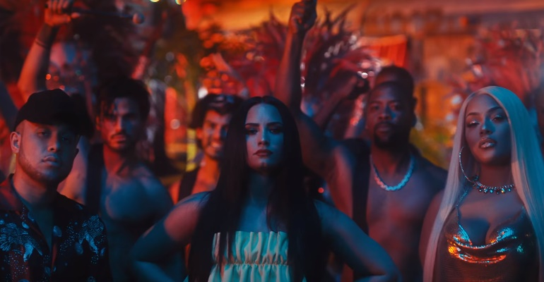 "Assista ao clipe de ""Instruction"" do Jax Jones com Demi Lovato!"