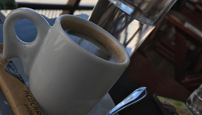 Açúcar no café? Será?