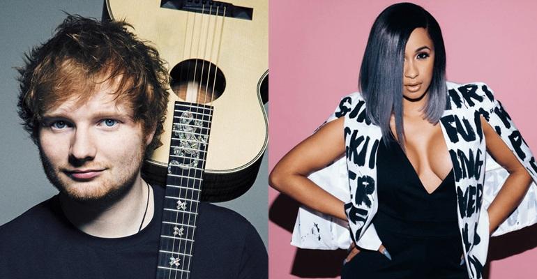 """Com """"Perfect"""", Ed Sheeran surge no top 3 do Billboard Hot 100"""