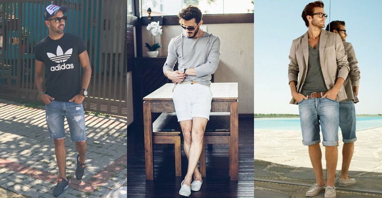 """Homens de 30: perca o """"medo"""" de usar bermudas em diversas ocasiões!"""