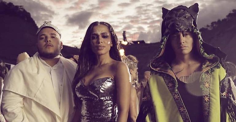 """Assista ao teaser de """"Machika"""", single de J Balvin, Anitta e Jeon Arvani"""
