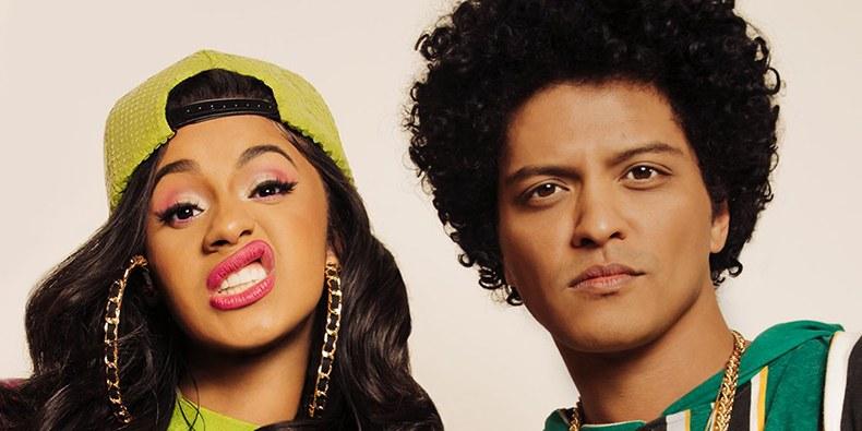 """Bruno Mars e Cardi B lançam clipe do remix de """"Finesse""""! Assista"""