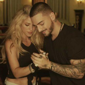 """Shakira lança videoclipe de """"Trap"""", com Maluma"""