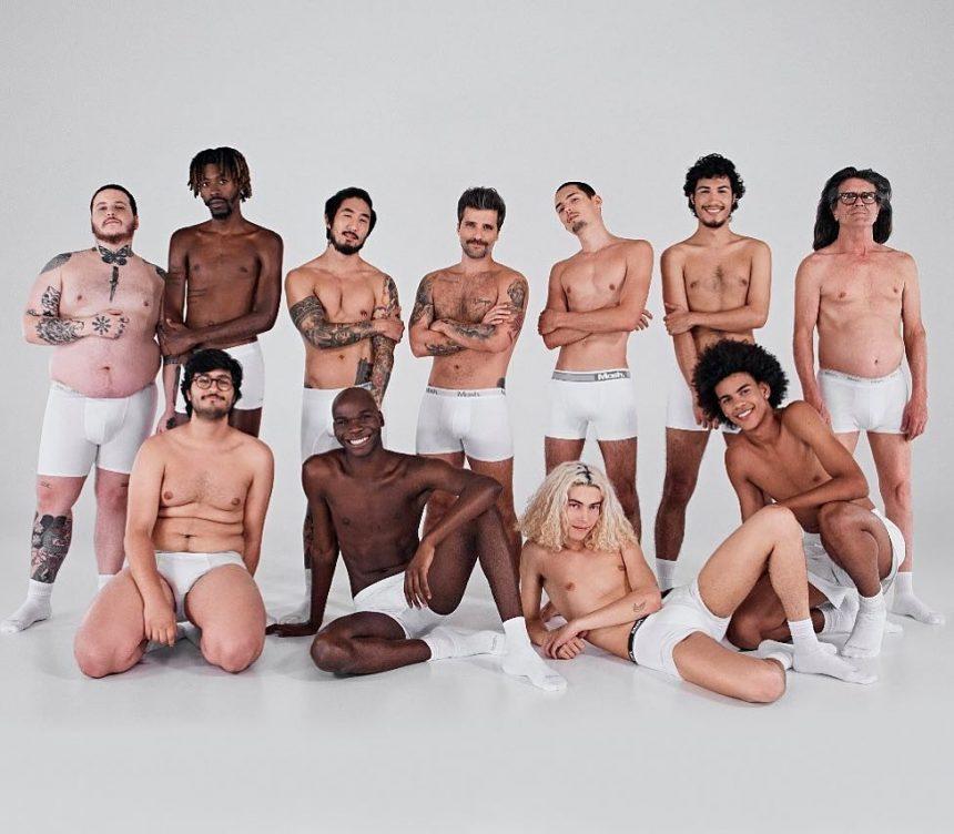 Bruno Gagliasso estrela campanha de cuecas em prol da diversidade