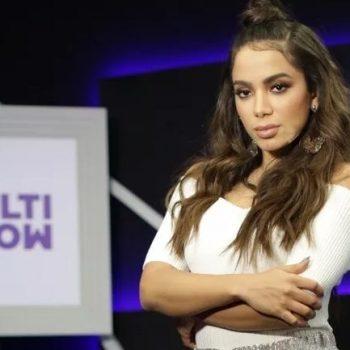 Anitta estreia programa no cantando com Nego do Borel e Marília Mendonça