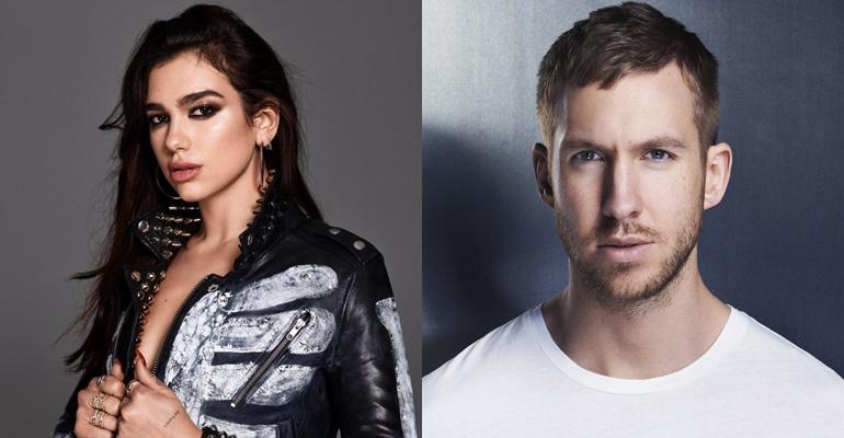 """Calvin Harris lança parceria com Dua Lipa! Ouça """"One Kiss"""""""