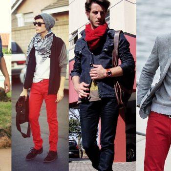 Homens de 30: Vermelho é a cor que vai bombar neste inverno!
