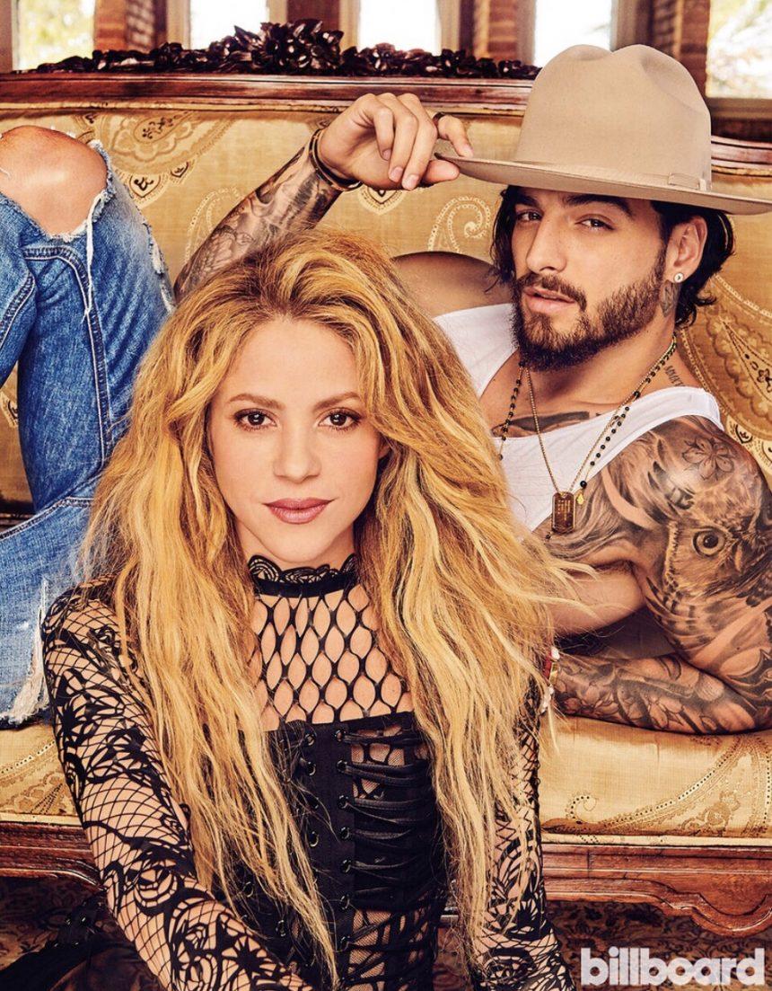 Shakira e Maluma estampam capa da Billboard