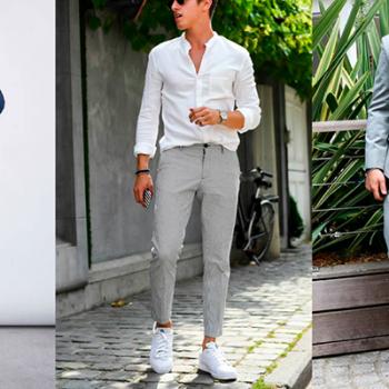 Homens de 30: Inspirações e dicas para usar tênis + terno!