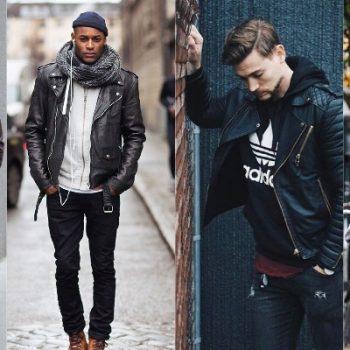 Homens de 30: Inspire-se nos looks com jaqueta de couro!