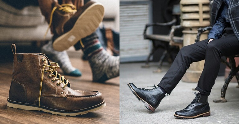 Homens de 30: Inspirações para usar coturno e bota!