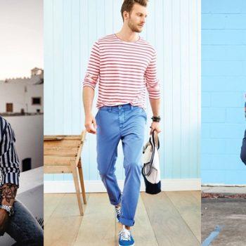 Homens de 30: Camisas e blusas para te inspirar a usar listras!