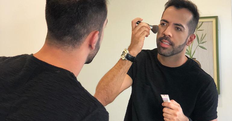 HOMENS: O passo a passo para uma maquiagem masculina