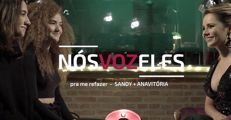 Pra Me Refazer é o novo single de Sandy com Anavitória