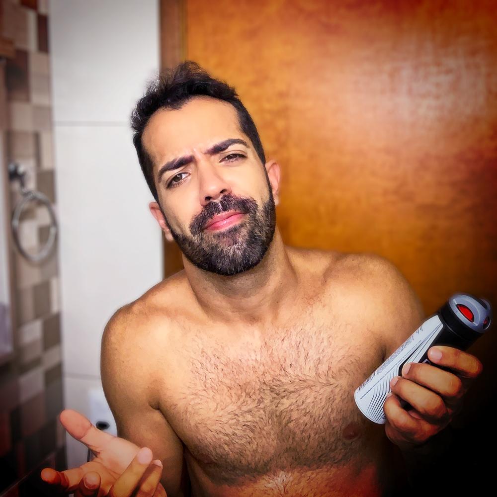 Desodorante masculino e o CC