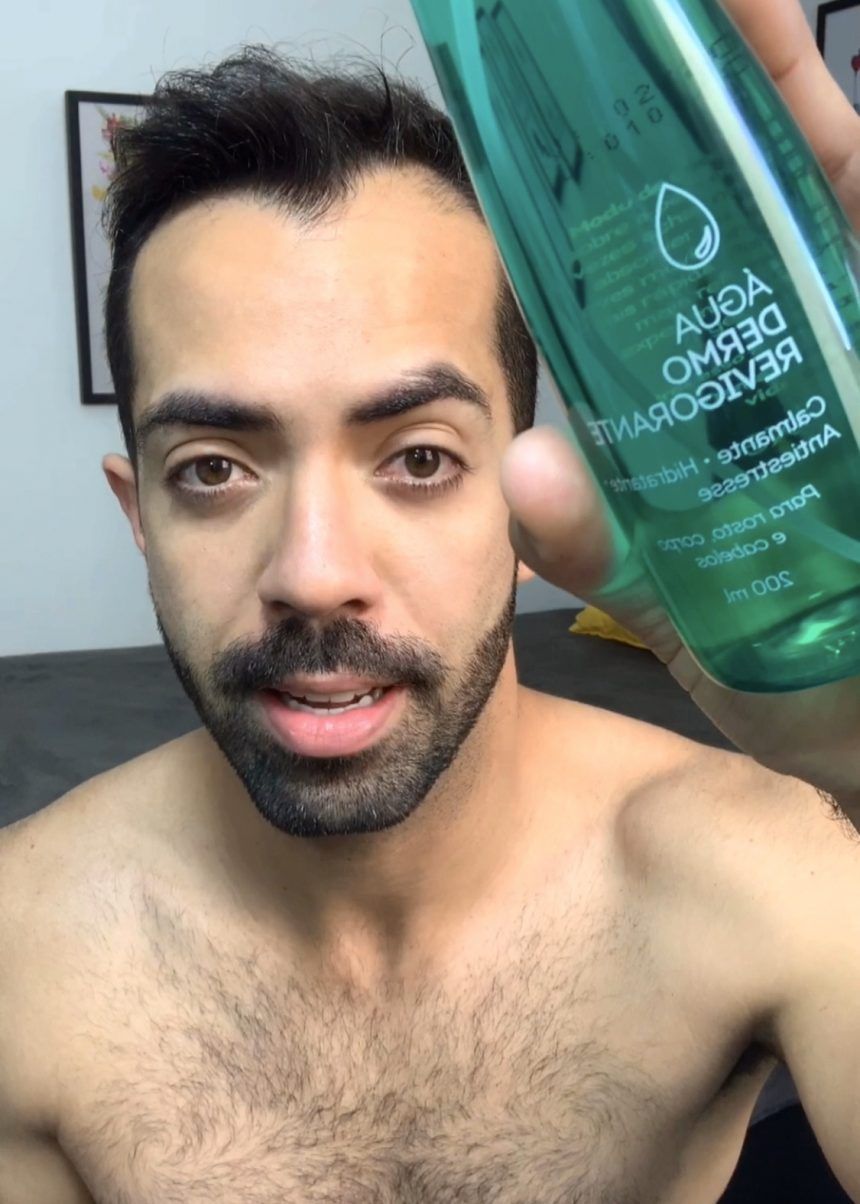 Homens de 30: Rotina de cuidado facial pela manhã