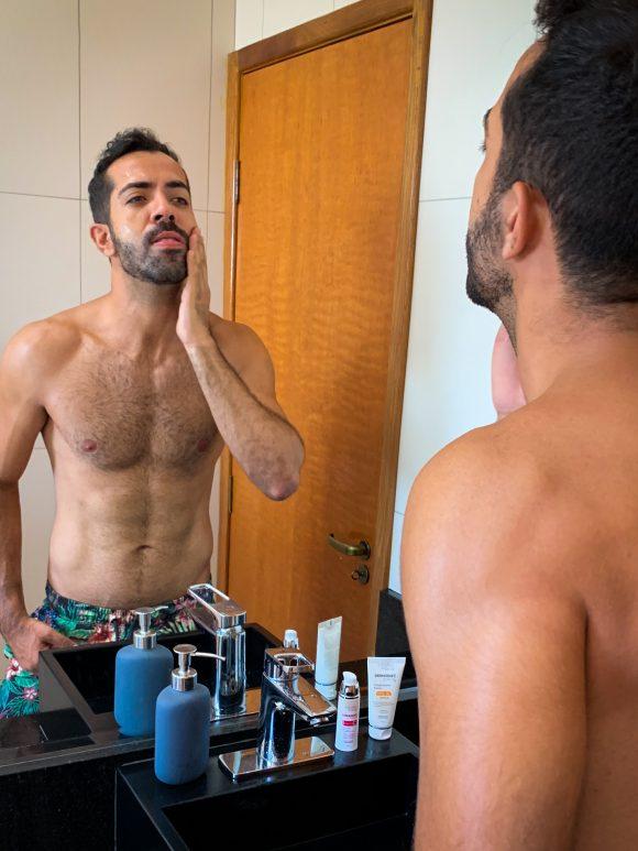 Skincare: 05 mancadas dos homens na quarentena